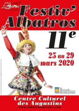 Affiche festiv'albatros 20 light
